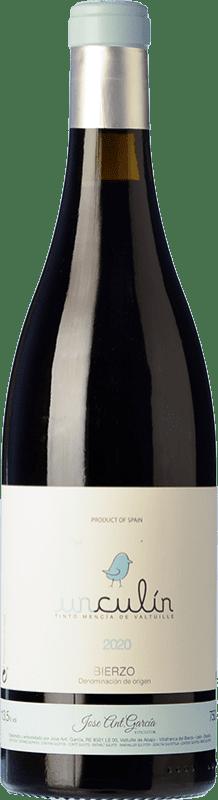 9,95 € Free Shipping | Red wine José Antonio García Unculín Joven D.O. Bierzo Castilla y León Spain Mencía Bottle 75 cl