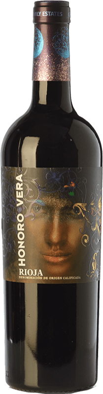 6,95 € Free Shipping | Red wine Juan Gil Honoro Vera Joven D.O.Ca. Rioja The Rioja Spain Tempranillo Bottle 75 cl