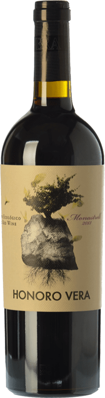 6,95 € 免费送货 | 红酒 Juan Gil Honoro Vera Organic Joven D.O. Jumilla 卡斯蒂利亚 - 拉曼恰 西班牙 Monastrell 瓶子 75 cl