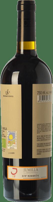 7,95 € Free Shipping | Red wine Juan Gil Honoro Vera Organic Joven D.O. Jumilla Castilla la Mancha Spain Monastrell Bottle 75 cl