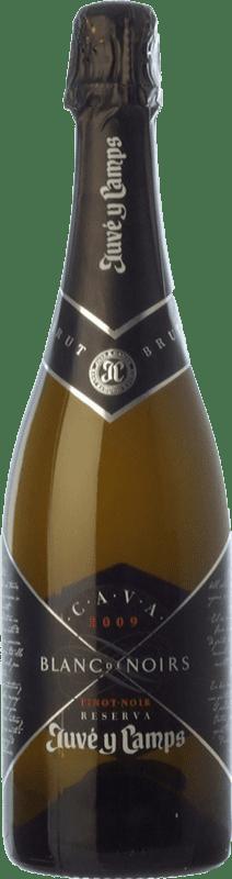26,95 € | White sparkling Juvé y Camps Blanc de Noirs Reserva D.O. Cava Catalonia Spain Pinot Black, Xarel·lo Bottle 75 cl