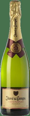 9,95 € Free Shipping | White sparkling Juvé y Camps Cinta Púrpura Brut Reserva D.O. Cava Catalonia Spain Macabeo, Xarel·lo, Parellada Half Bottle 75 cl