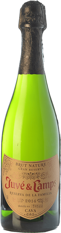 113,95 € | White sparkling Juvé y Camps Reserva de la Familia Reserva D.O. Cava Catalonia Spain Macabeo, Xarel·lo, Parellada Jéroboam Bottle-Double Magnum 3 L