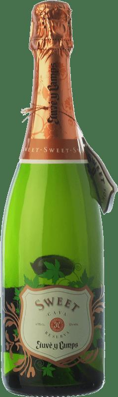 14,95 € | White sparkling Juvé y Camps Sweet Reserva D.O. Cava Catalonia Spain Macabeo, Xarel·lo, Parellada Bottle 75 cl