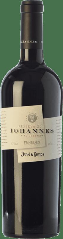 31,95 € | Red wine Juvé y Camps Iohannes Reserva D.O. Penedès Catalonia Spain Merlot, Cabernet Sauvignon Bottle 75 cl