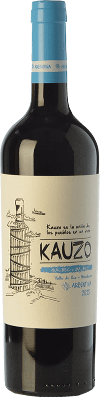 13,95 € | Red wine Kauzo Joven I.G. Valle de Uco Uco Valley Argentina Malbec Bottle 75 cl
