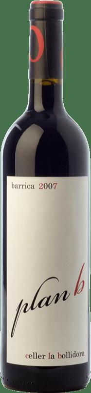 9,95 € | Red wine La Bollidora Plan B Crianza D.O. Terra Alta Catalonia Spain Syrah, Grenache, Carignan, Morenillo Bottle 75 cl
