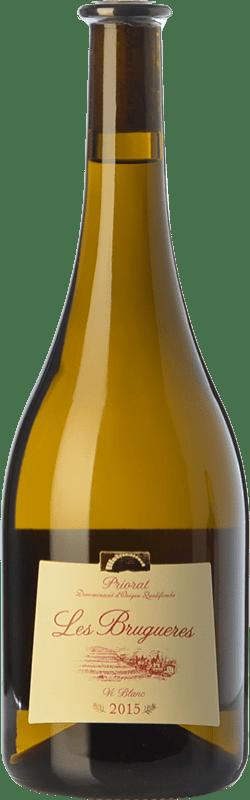 36,95 € Free Shipping | White wine La Conreria de Scala Dei Les Brugueres Blanc D.O.Ca. Priorat Catalonia Spain Grenache White Magnum Bottle 1,5 L