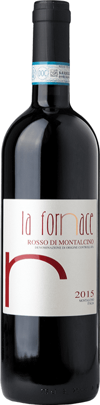 19,95 € Free Shipping   Red wine La Fornace D.O.C. Rosso di Montalcino Tuscany Italy Sangiovese Bottle 75 cl
