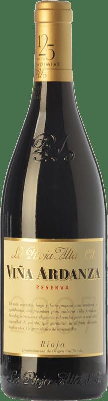 12,95 € Free Shipping | Red wine Rioja Alta Viña Ardanza Reserva D.O.Ca. Rioja The Rioja Spain Tempranillo, Grenache Half Bottle 37 cl