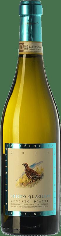 15,95 €   Sweet wine La Spinetta Bricco Quaglia D.O.C.G. Moscato d'Asti Piemonte Italy Muscatel White Bottle 75 cl