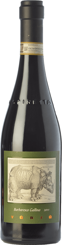 155,95 € Free Shipping | Red wine La Spinetta Gallina D.O.C.G. Barbaresco Piemonte Italy Nebbiolo Bottle 75 cl