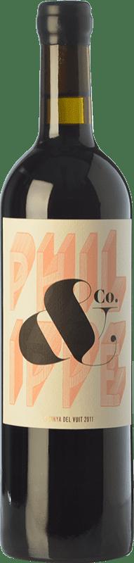73,95 € 免费送货 | 红酒 La Vinya del Vuit Crianza D.O.Ca. Priorat 加泰罗尼亚 西班牙 Grenache, Carignan 瓶子 75 cl