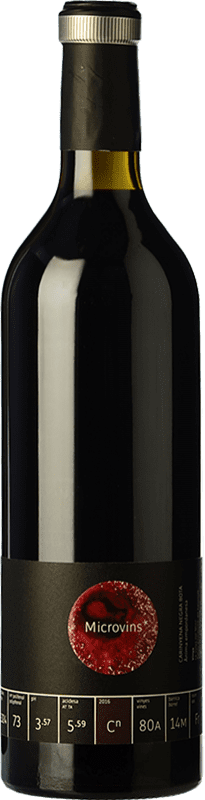 17,95 € | Red wine La Vinyeta Microvins Crianza D.O. Empordà Catalonia Spain Samsó Bottle 75 cl