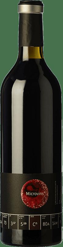 18,95 € Envío gratis | Vino tinto La Vinyeta Microvins Crianza D.O. Empordà Cataluña España Samsó Botella 75 cl