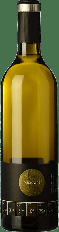 18,95 € Envío gratis | Vino blanco La Vinyeta Microvins Varietat Ancestral Crianza D.O. Empordà Cataluña España Cariñena Blanca Botella 75 cl