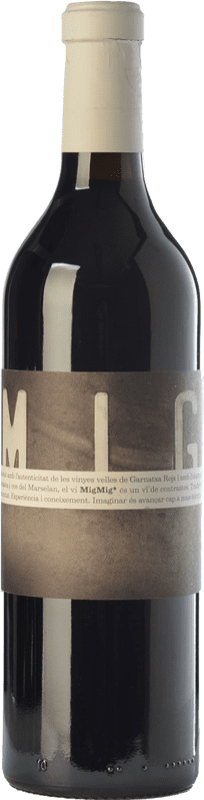 14,95 € | Red wine La Vinyeta MigMig Crianza D.O. Empordà Catalonia Spain Grenache Tintorera, Marcelan Bottle 75 cl
