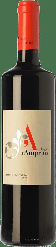 11,95 € Free Shipping | Red wine Lagar d'Amprius Syrah-Garnacha Joven I.G.P. Vino de la Tierra Bajo Aragón Aragon Spain Syrah, Grenache Bottle 75 cl