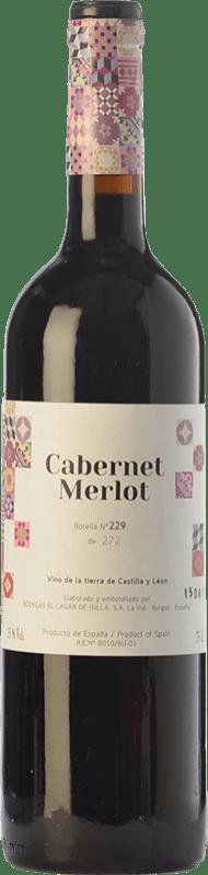 19,95 € Free Shipping | Red wine Lagar de Isilla La Casona de la Vid Crianza I.G.P. Vino de la Tierra de Castilla y León Castilla y León Spain Merlot, Cabernet Sauvignon Bottle 75 cl