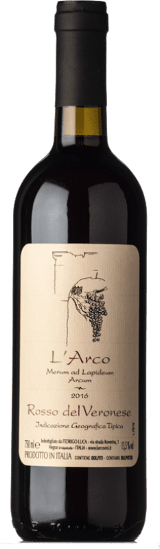 14,95 € Envoi gratuit   Vin rouge L'Arco Vini Rosso I.G.T. Veronese Vénétie Italie Sangiovese, Corvina, Rondinella, Molinara, Teroldego Bouteille 75 cl