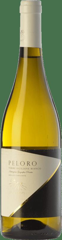 16,95 € Free Shipping | White wine Le Casematte Peloro Bianco I.G.T. Terre Siciliane Sicily Italy Carricante, Grillo Bottle 75 cl