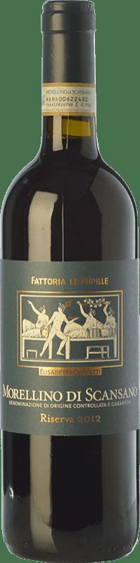 22,95 € Free Shipping | Red wine Le Pupille Riserva Reserva D.O.C.G. Morellino di Scansano Tuscany Italy Cabernet Sauvignon, Sangiovese Bottle 75 cl