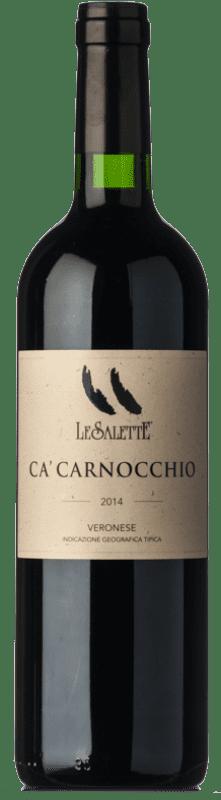 27,95 € | Red wine Le Salette Ca' Carnocchio I.G.T. Veronese Veneto Italy Sangiovese, Corvina, Rondinella, Corvinone, Oseleta, Croatina Bottle 75 cl