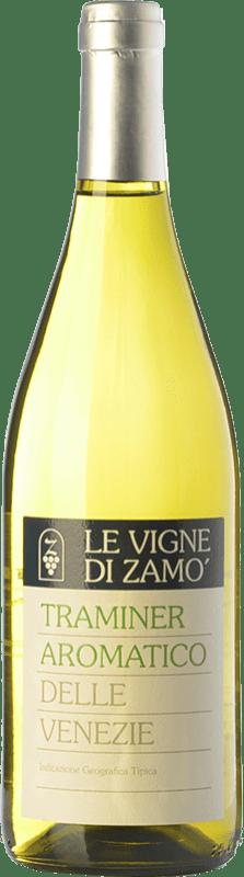 10,95 € Free Shipping | White wine Zamò Traminer Aromatico I.G.T. Friuli-Venezia Giulia Friuli-Venezia Giulia Italy Gewürztraminer Bottle 75 cl