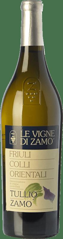 22,95 € Free Shipping | White wine Zamò Pinot Bianco Tullio Zamò D.O.C. Colli Orientali del Friuli Friuli-Venezia Giulia Italy Pinot White Bottle 75 cl