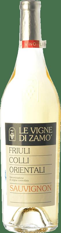 19,95 € Free Shipping | White wine Zamò D.O.C. Colli Orientali del Friuli Friuli-Venezia Giulia Italy Sauvignon Bottle 75 cl