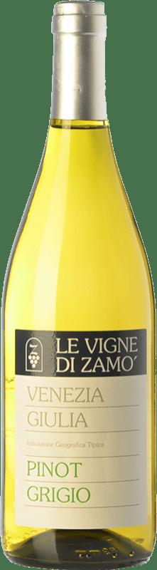 13,95 € Free Shipping | White wine Zamò Pinot Grigio I.G.T. Friuli-Venezia Giulia Friuli-Venezia Giulia Italy Pinot Grey Bottle 75 cl