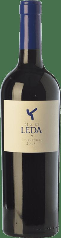 12,95 € Free Shipping | Red wine Leda Más Crianza I.G.P. Vino de la Tierra de Castilla y León Castilla y León Spain Tempranillo Bottle 75 cl