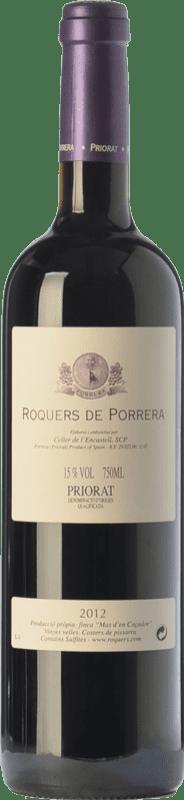 46,95 € Free Shipping | Red wine L'Encastell Roquers de Porrera Crianza D.O.Ca. Priorat Catalonia Spain Merlot, Syrah, Grenache, Carignan Bottle 75 cl