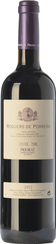 46,95 € Envoi gratuit | Vin rouge L'Encastell Roquers de Porrera Crianza D.O.Ca. Priorat Catalogne Espagne Merlot, Syrah, Grenache, Carignan Bouteille 75 cl