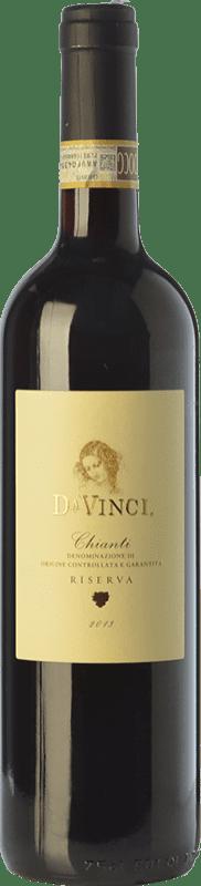 9,95 € | Red wine Leonardo da Vinci Da Vinci Riserva Reserva D.O.C.G. Chianti Tuscany Italy Merlot, Sangiovese Bottle 75 cl