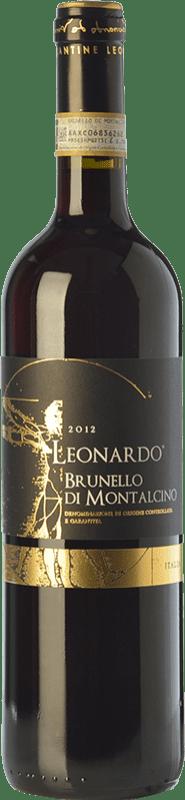 28,95 € | Red wine Leonardo da Vinci Leonardo D.O.C.G. Brunello di Montalcino Tuscany Italy Sangiovese Bottle 75 cl