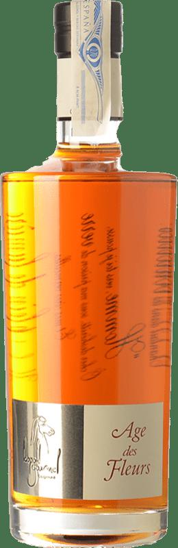 123,95 € 免费送货 | 科涅克白兰地 Léopold Gourmel Age des Fleurs A.O.C. Cognac 法国 瓶子 70 cl