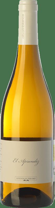 8,95 € Envío gratis | Vino blanco Leyenda del Páramo El Aprendiz D.O. León Castilla y León España Albarín Botella 75 cl