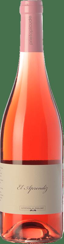 7,95 € Envío gratis | Vino rosado Leyenda del Páramo El Aprendiz D.O. León Castilla y León España Prieto Picudo Botella 75 cl