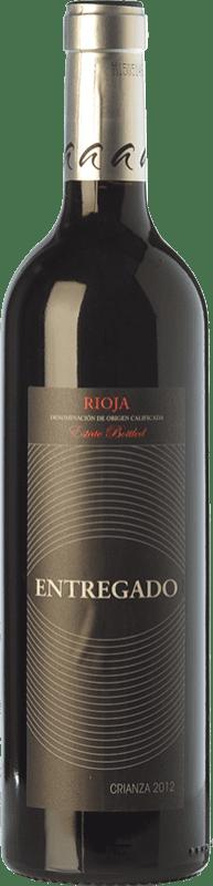 6,95 € 免费送货 | 红酒 Leza Entregado Selección Crianza D.O.Ca. Rioja 拉里奥哈 西班牙 Tempranillo, Grenache 瓶子 75 cl