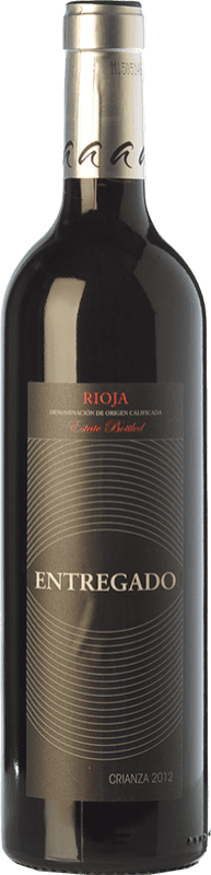 6,95 € Envoi gratuit   Vin rouge Leza Entregado Selección Crianza D.O.Ca. Rioja La Rioja Espagne Tempranillo, Grenache Bouteille 75 cl