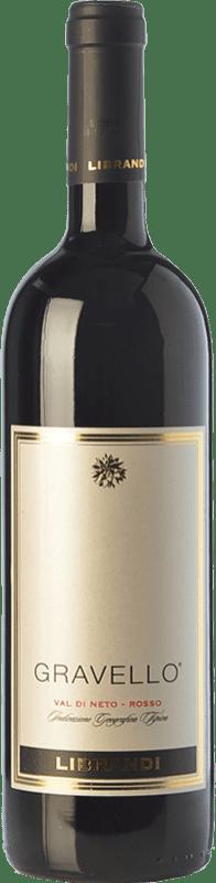 21,95 € Free Shipping | Red wine Librandi Gravello I.G.T. Val di Neto Calabria Italy Cabernet Sauvignon, Gaglioppo Bottle 75 cl