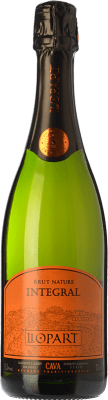 8,95 € Free Shipping | White sparkling Llopart Integral Brut Nature Reserva D.O. Cava Catalonia Spain Macabeo, Chardonnay, Parellada Half Bottle 37 cl