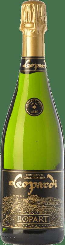 27,95 € Free Shipping | White sparkling Llopart Leopardi Vintage Gran Reserva D.O. Cava Catalonia Spain Macabeo, Xarel·lo, Chardonnay, Parellada Bottle 75 cl