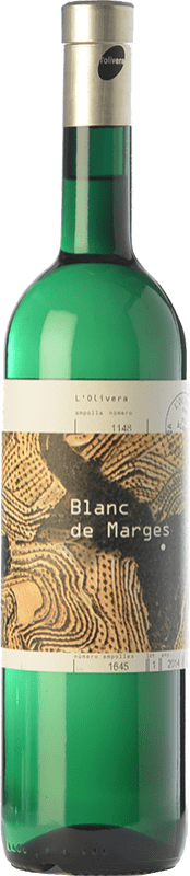 15,95 € | White wine L'Olivera Blanc de Marges Crianza D.O. Costers del Segre Catalonia Spain Malvasía, Xarel·lo, Parellada Bottle 75 cl
