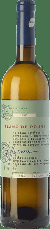 9,95 € | White wine L'Olivera Blanc de Roure Crianza D.O. Costers del Segre Catalonia Spain Macabeo, Chardonnay, Parellada Bottle 75 cl