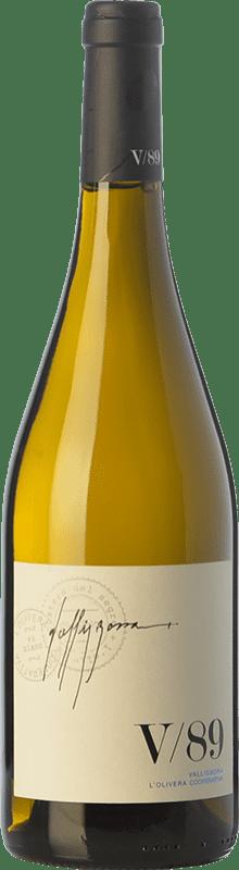 29,95 € | White wine L'Olivera Vallisbona 89 Crianza D.O. Costers del Segre Catalonia Spain Chardonnay Bottle 75 cl
