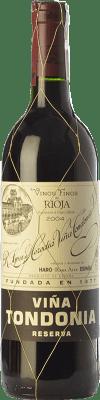 19,95 € Envoi gratuit   Vin rouge López de Heredia Viña Tondonia Reserva D.O.Ca. Rioja La Rioja Espagne Tempranillo, Grenache, Graciano, Mazuelo Demi Bouteille 37 cl