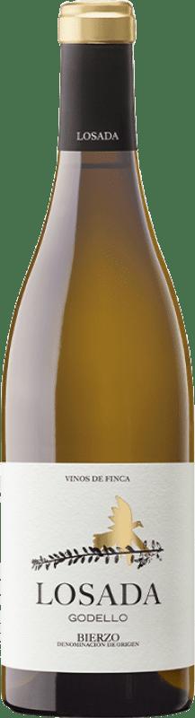 16,95 € Envío gratis | Vino blanco Losada Crianza D.O. Bierzo Castilla y León España Godello Botella 75 cl