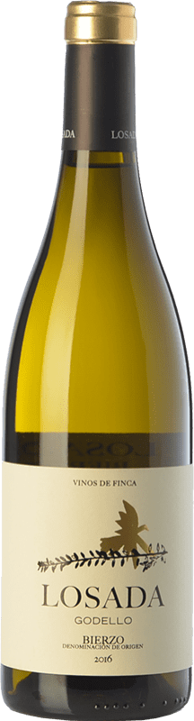 16,95 € | White wine Losada Crianza D.O. Bierzo Castilla y León Spain Godello Bottle 75 cl